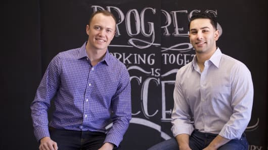 Citelighter co-founders Saad Alam and Lee Jokl